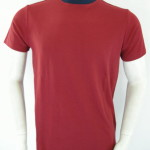 Plain Dark Maroon Round Neck T Shirts Printing Dubai