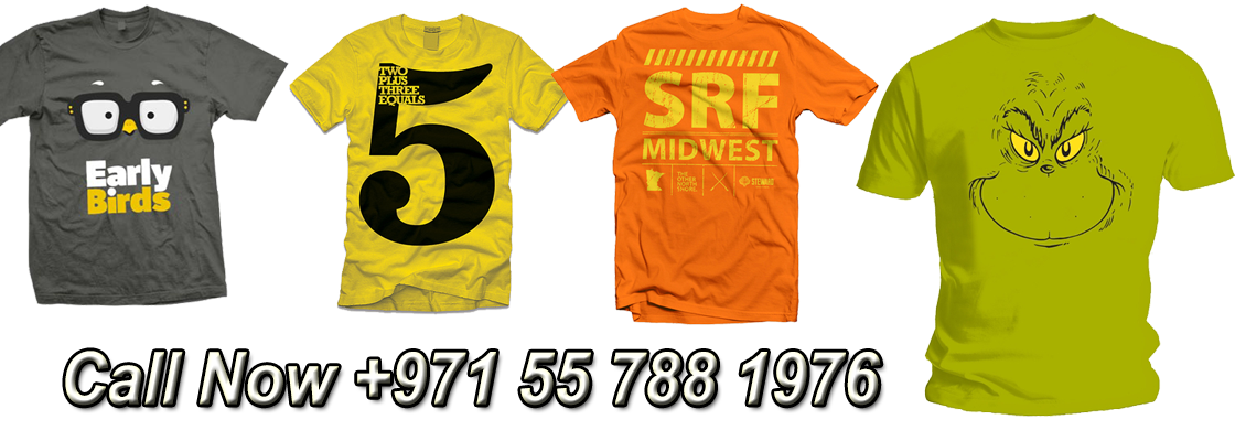 Tshirts Printing Dubai Call Now +971 55 788 1976
