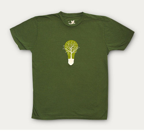 Organic t shirt mens green light tshirts printing dubai for Sustainable t shirt printing