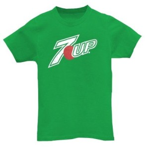Green Promotional T Shirts Printing Dubai 7UP