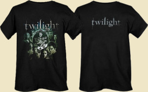 Twilight Movie T Shirt with 100% Cotton