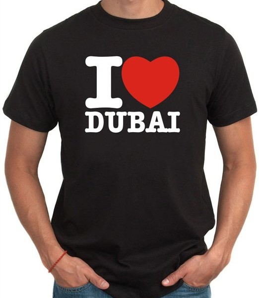 I Love Dubai T Shirt