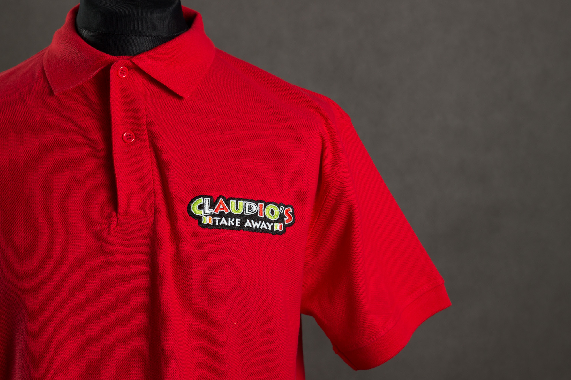 T shirts embroidery dubai tshirts printing dubai for Company logo t shirt printing